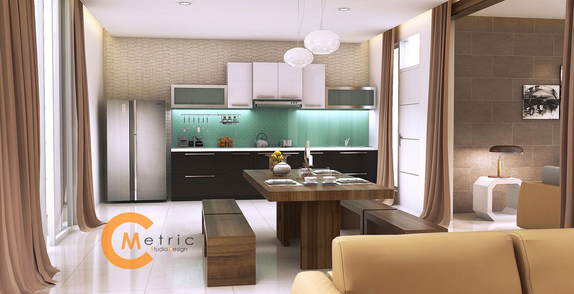 jasa 3d model interior furniture desain gambar arsitekture apartemen kitchen set mebel